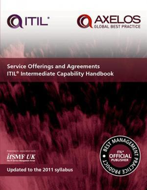 Service offerings and agreements ITIL Intermediate Capability handbook