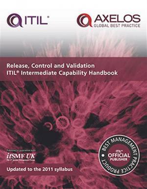 ITIL RCV Capability Handbook 10 pack