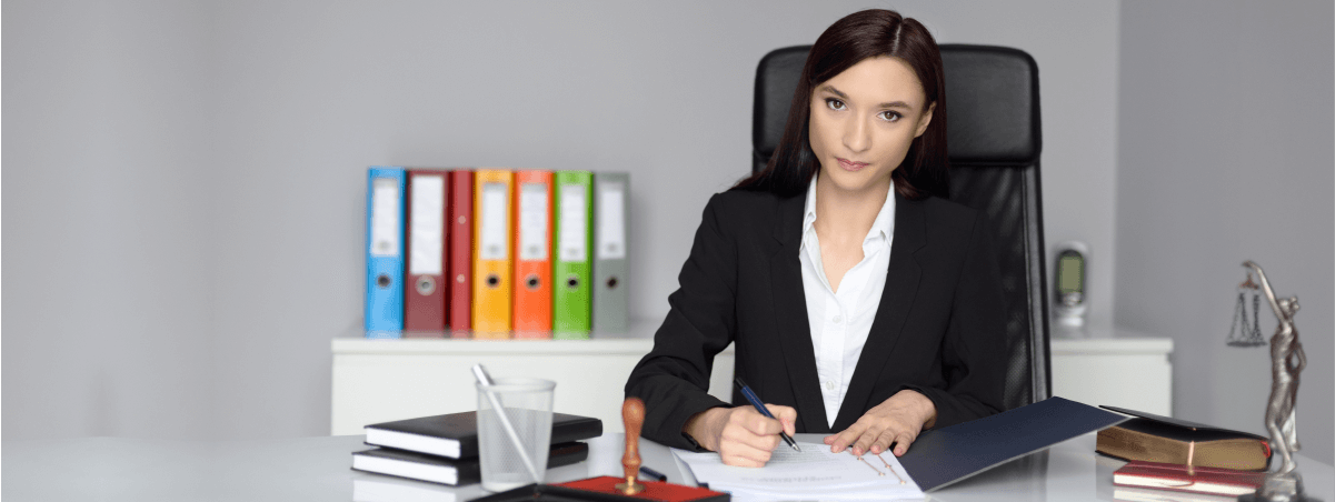 Female Legal Secretary in the UK