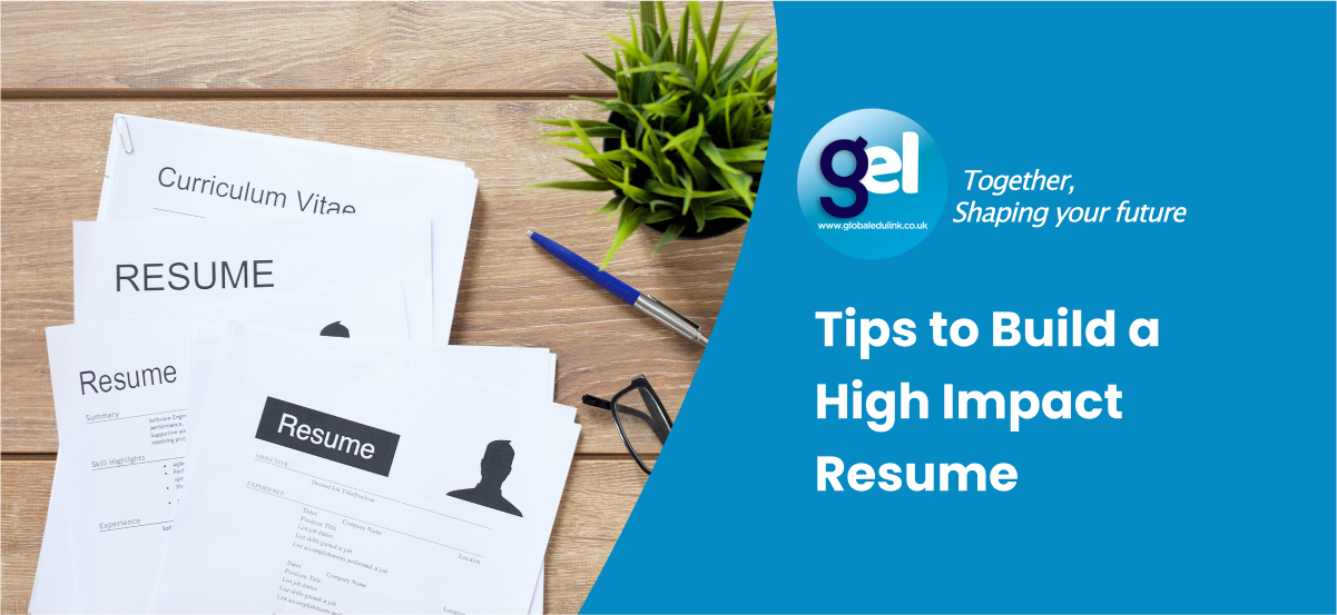 Tips to Build a High Impact Resume