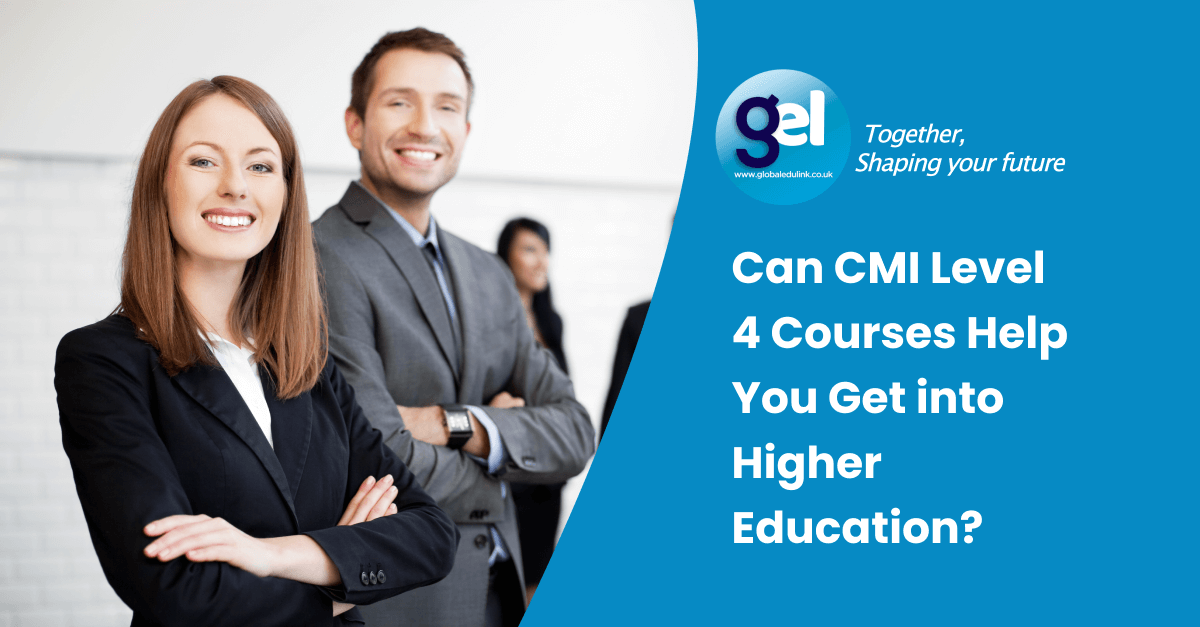 Can CMI Level 4 Courses Help You Get into Higher Education?